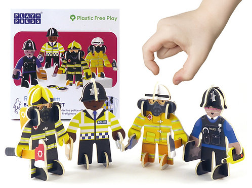 Playpress Emergency Services Character Set