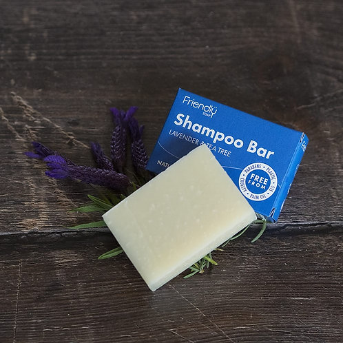 Friendly Lavender & Tea Tree Shampoo Bar