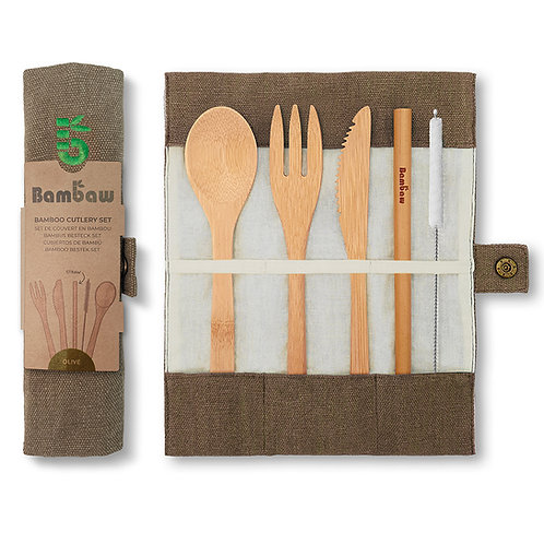 Bambaw Bamboo Cutlery Set