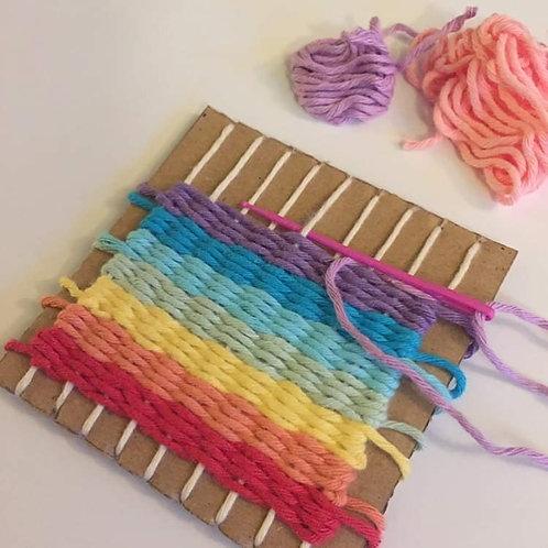 Rainbow Weaving Kit