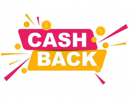 Pay online and get cashback!