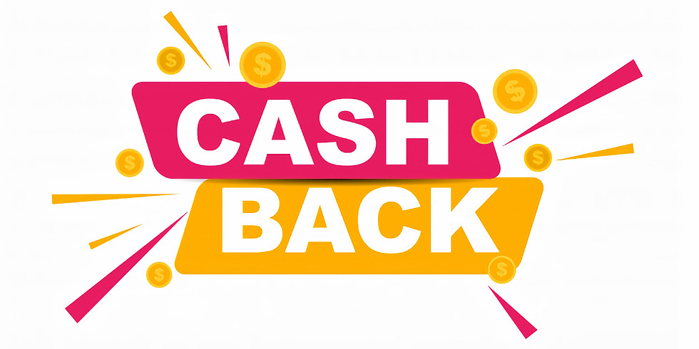 Pay online and get cashback