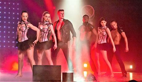 La troupe de danseurs