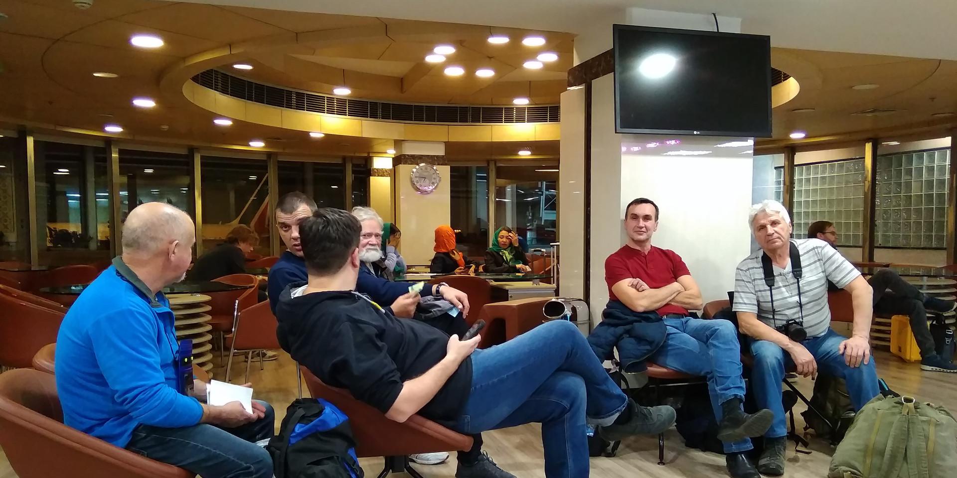 After departure