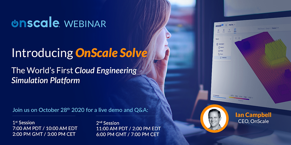 Introducing OnScale Solve
