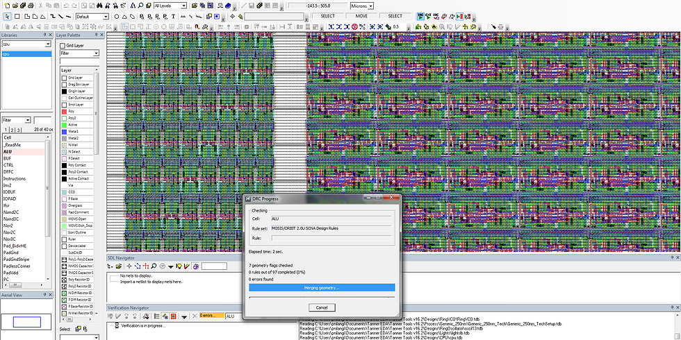 Tanner L-Edit 在封裝佈局GDS (Packaging layout GDS)的應用