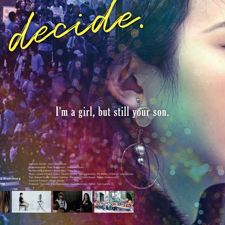 映画「You decide.」がロサンゼルスで上映開始