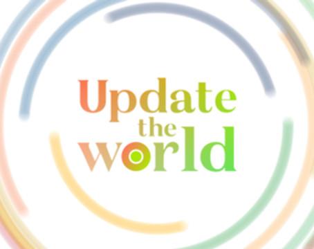 NEWS ZERO企画対談「Update the World」に登場します