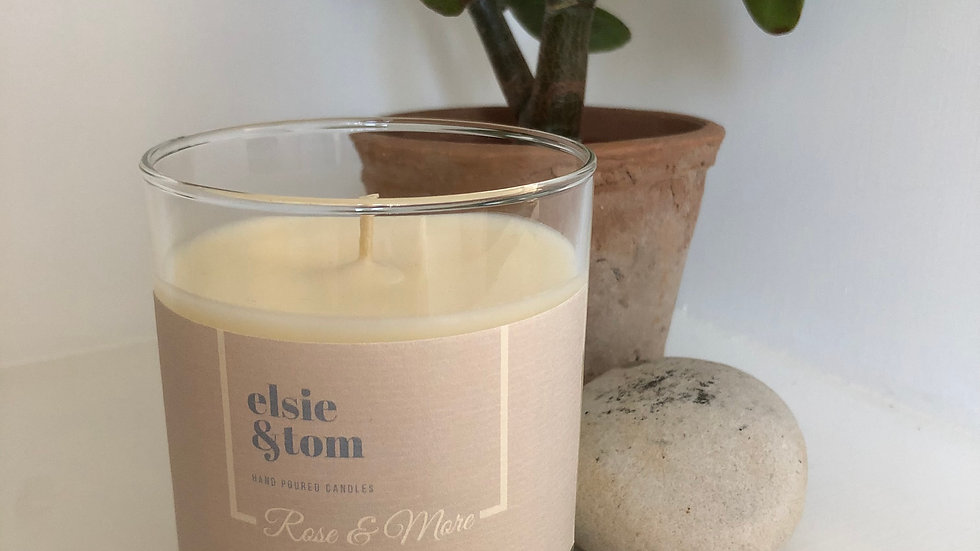Rose and More Essential Oil Candle