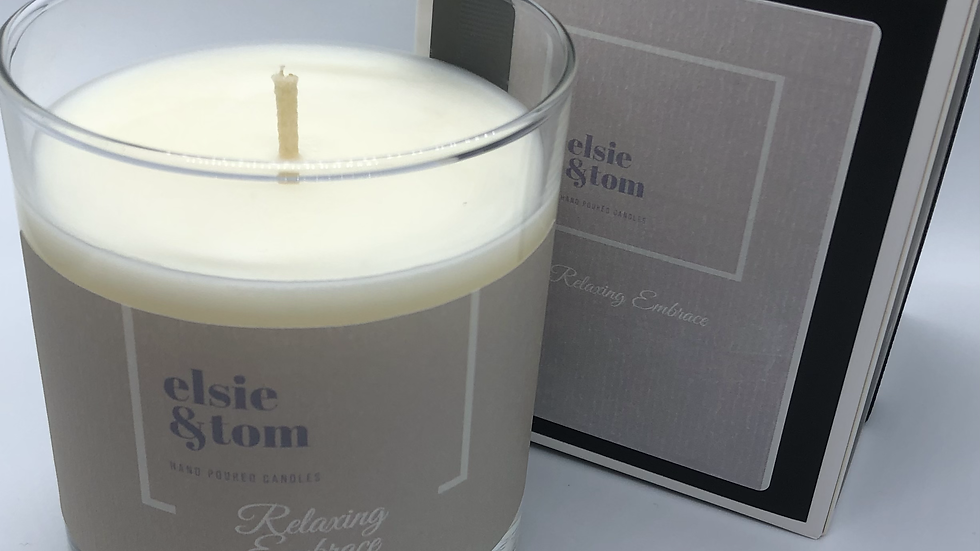 Relaxing Embrace Essential Oil Scented Candle