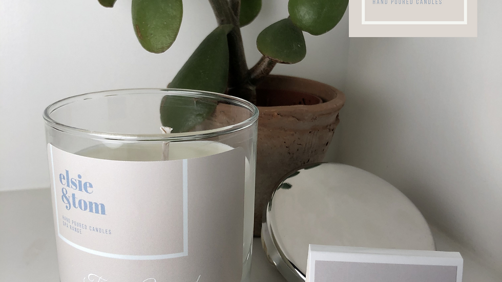 Time to Unwind Essential Oil Scented Candle