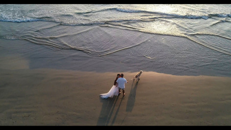Orange-County-Aerial-Photography-of-beach-weddings