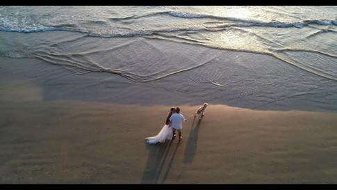 Orange-County-Aerial-Photography-of-beach-weddings