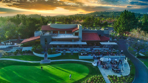 Tustin Ranch Golf Club Aerial Photograph