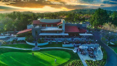 Tustin Ranch Golf Club Aerial Photograph