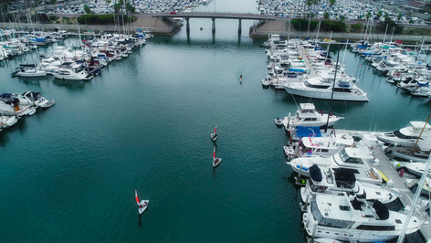 Junior Sailors Aerial Photograph