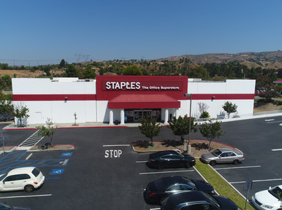 Aerial Photograph of a commercial property in Orange County, California