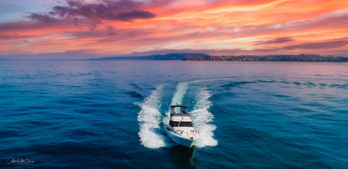 Boat and Yacht Action Aerial Photography
