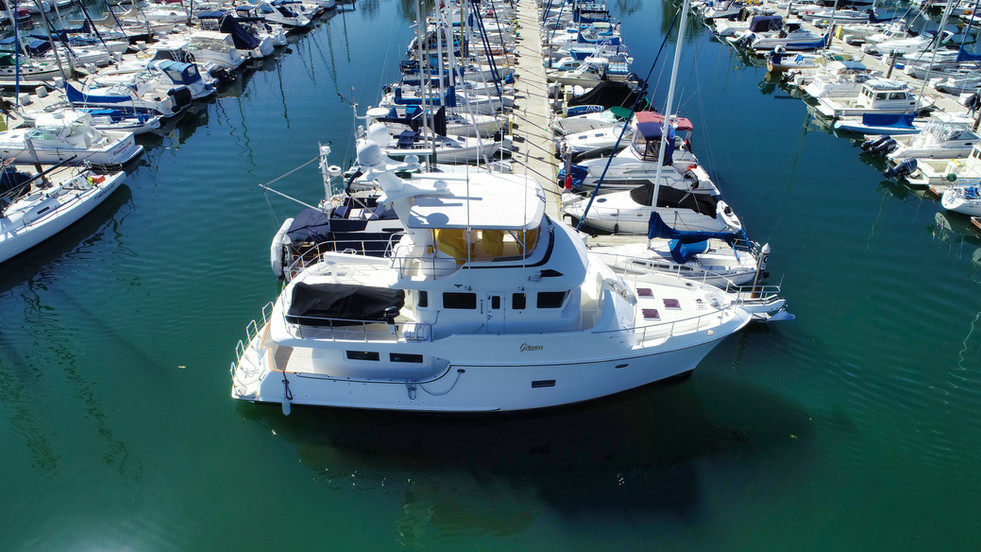Nordhaven Yacht Aerial Drone Video
