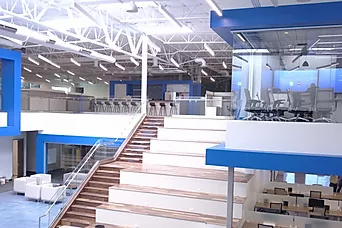 Commercial Property Interior with Video