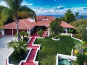 Anaheim Hills Aerial Photograph of a home