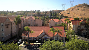 Aerial Photograph of the Residence Inn, Anaheim Hills, CA