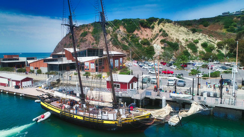 Ocean Institute Tall Ship, Aerial Photography