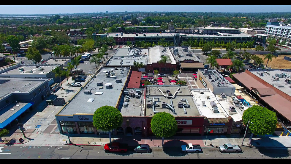 Aerial Drone photography of commercial properties for promotional videos