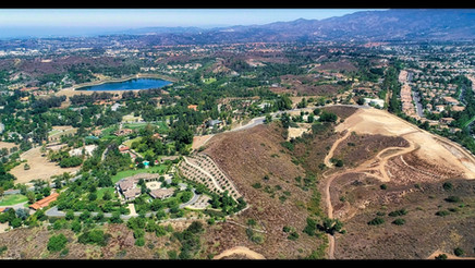 Residential Property in Trabuco Cayon Aerial Drone Video