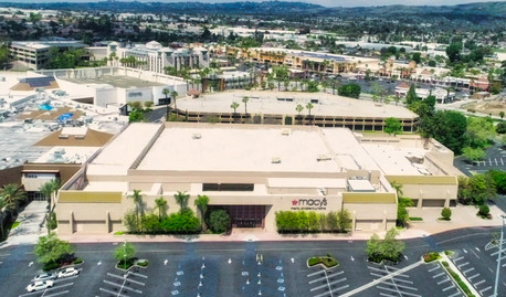 Aerial Drone Photograph of a commercial property in Orange County California