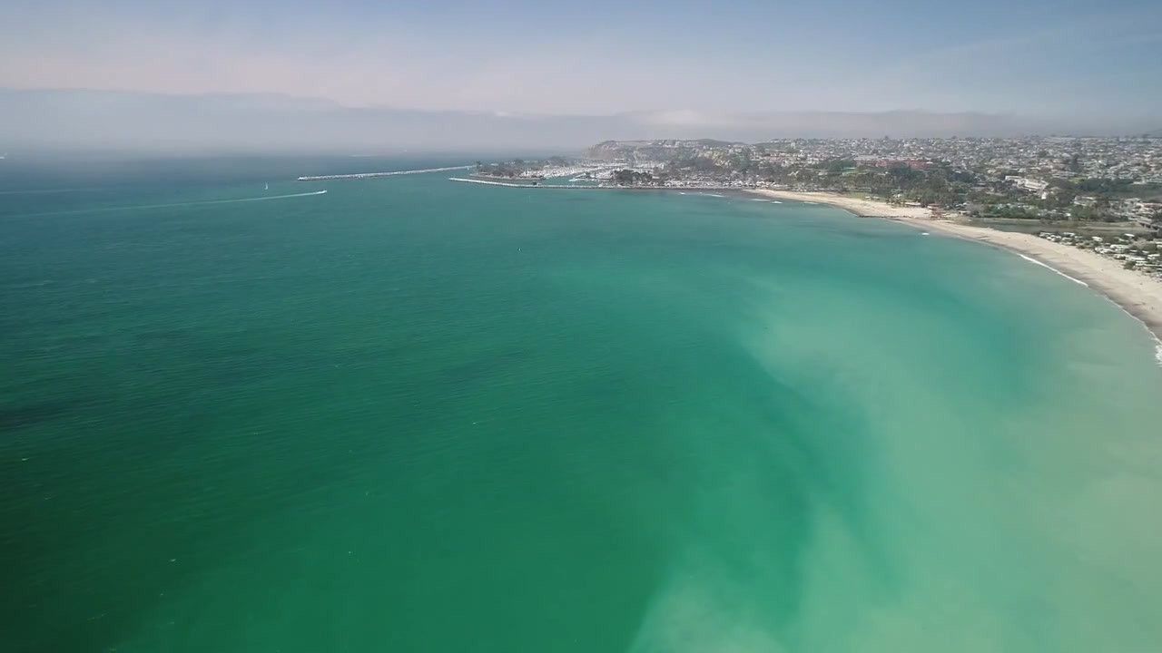 Aerial Drone Photography and Videography of Dana Point and Doheny Beach in California