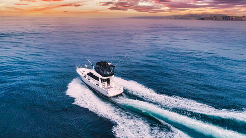 Boat Aerial Drone Photography in Orange County California