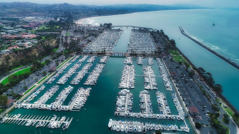 Dana Point Marina Aerial Photography