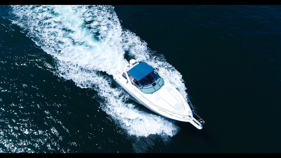 Yacht and Boat Aerial Photography