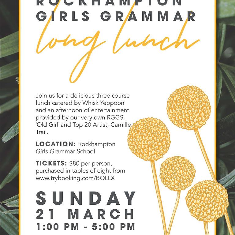 Rockhampton Girls Grammar Long Lunch