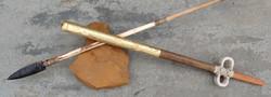 Replica of Aztec Atlatl and Dart