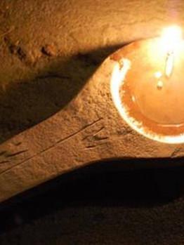 Lascaux Lamp Replica
