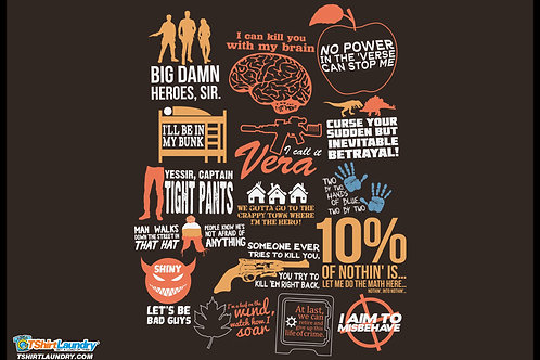 Firefly Quotes Tshirt