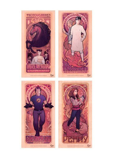 Dr. Horrible Art Nouveau Collection