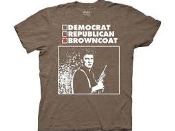 Democrat, Republican, Browncoat Tee
