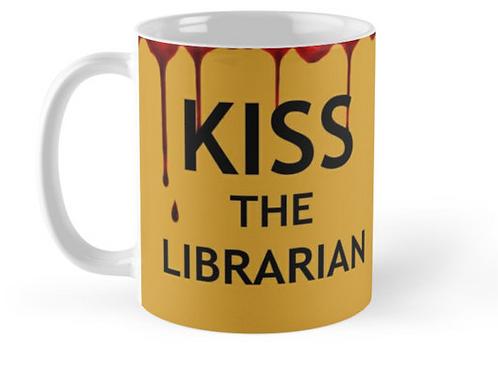 Kiss The Librarian Mug