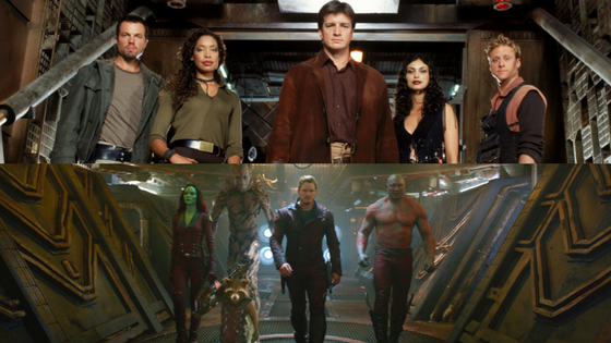 Firefly & Guardians of the Galaxy