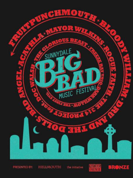 Sunnydale Big Bad Music Festival Collection