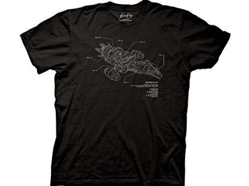Firefly Serenity Schematic Tee