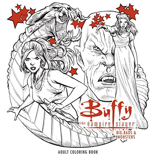 Buffy the Vampire Slayer Big Bads & Monsters Adult Coloring Book