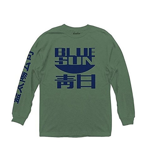 Blue Sun Long Sleeve Tee