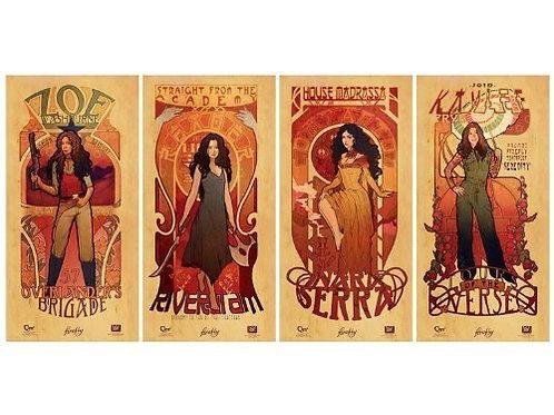 Les Femmes, Les Hommes, & Saffron Posters