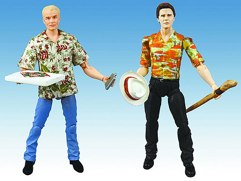 Angel & Spike Hawaiian Action Figure Two Pack