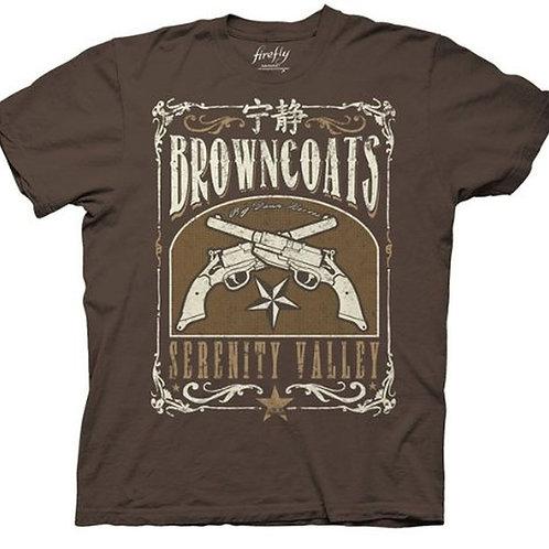 Browncoats Serenity Valley Tee