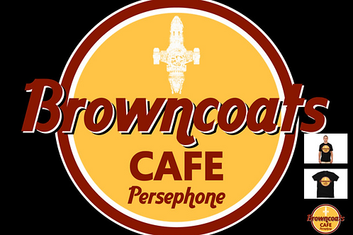 Browncoat Cafe Tshirt